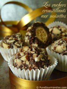 rochers chocolat noisettes
