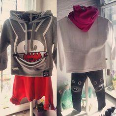 Nasza jesienna propozycja dla chłopca i dziewczynki :) chlopiec: bluza ZombieDash, spodenki LaMama; dziewczynka: komin & longsleeve LaMama, spodenki ZombieDash. Zapraszamy! #zombiedash #lamama #malystyl #kidsstore #kidsfashion #fashionkids #polishdesigners #polishdesign #modabambina #modnedzieci #kraków #cracow  (w: Malystyl)