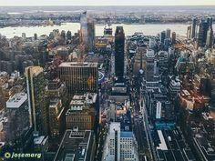 Vista de la parte oeste de Manhattan desde el Empire State en Nueva York #newyork #nuevayork #usa #empirestate #eeuu #eeuu #manhattan #travelporn #instatraveling #ny #travelphotographer #travelphotos #travelpic #mytravelgram #traveltheworld #travelpics #travelphoto #travel_captures  #igtravel #travelphotography #iphone6 #instatravel #travell #travelingram #traveler #travelers #travels #traveling #traveller #travel