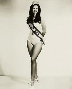 Lynda Carter, a Mulher Maravilha Mostra Sua Força Miss Mundo 1972