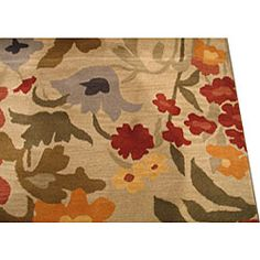 @Overstock - Masterfully designed rug instantly transforms your home  Transitional floor covering features a medley of colors on an ivorybackground Area rug is hand-tufted of soft woolhttp://www.overstock.com/Home-Garden/Josie-Floral-Ivory-Rug-8-x-10/3874309/product.html?CID=214117 $399.99