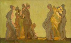 "Georges von Swetlik (1912-1991) - A Variation of ""The Virgin Theme"", 1973"