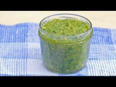 Video: Bärlauchpesto selber machen - gesund, Pesto, vegetarisch