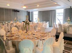 Art Deco inspired wedding styling at the Hyatt Regency Hotel by Debonair Venue Styling