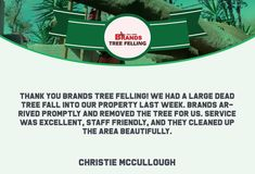 Thank you, Christie Mc Cullough, for your wonderful comment on the work done by the Brands Tree Felling team. We appreciate your kind words! www.brandstreefelling.co.za #compliments #treefelling #treecare #brandstreefelling
