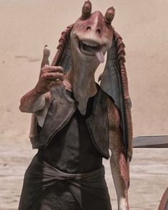 While standing in on the Galactic Senate, Jar Jar Binks votes in favor of Order 66, leading to the destruction of the Jedi and the rise of the Galactic Empire.