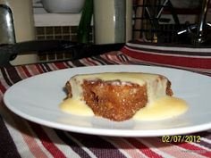 South African Recipe: Malva Pudding Malva Pudding, South African Recipes, Lunch Snacks, Soul Food, Yummy Food, Favorite Recipes, Treats, Baking, Genetics