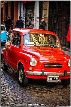 Autos Antiguos San Telmo 2012 fiat 600 tambien de casi de los 80