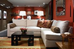 Renovate your underused basement with decorating ideas from Divine Design's Candice Olson.