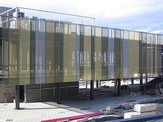 Afbeeldingsresultaat voor perforated metal facade