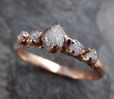 Wedding Rings Simple, Custom Wedding Rings, Wedding Rings Rose Gold, Rose Gold Engagement Ring, Bridal Rings, Vintage Engagement Rings, Wedding Jewelry, Gold Jewelry, Gold Bracelets