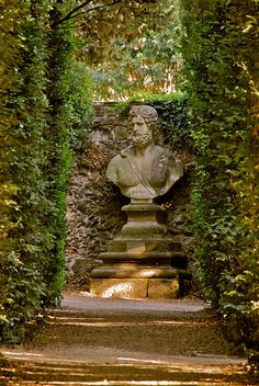 From the Boboli Garden, around Palazzo Pitti, in Florence by Hilde Kari, via Flickr