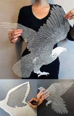 L'art du papier #2 : 100 créations incroyables & originales à découvrir - édition 2015 | BlogDuWebdesign Maude White