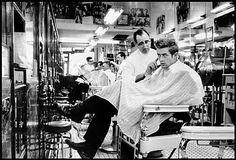 James Dean at the Barber Shop