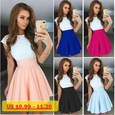 2017 Summer Women Dress Sleeveless Dresses Fashion Elegant Female Party Club Mini dress Lady Loose Clothes Vestidos