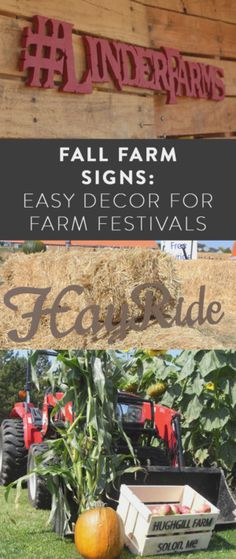 Fall Farm Signs: Easy Decor for Farm Festivals Custom Wood Signs, Rustic Signs, Apple Crates, Entrance Sign, Custom Stencils, Farm Signs, Outdoor Signs, Metal Letters, Porch Signs