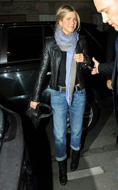 Jennifer Aniston ankle boots