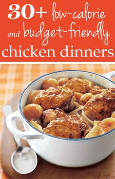 Dig in! Here are 31 low calorie, #budget friendly (and totally delicious!) chicken dinner #recipes