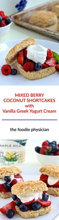 Mixed Berry Coconut