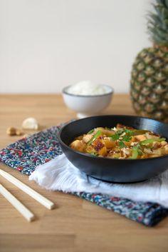 Poulet à l'ananas - Safran Gourmand