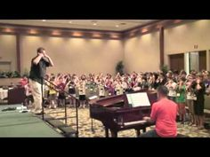 """Aloha Children's Choir Festival 2013 """"Warm-ups"""" - YouTube >>> add gestures to extend range and increase energy level. Henry Leck."""