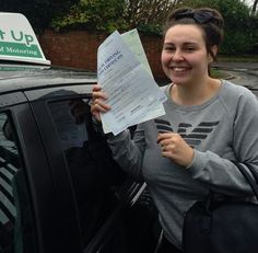 Sam Blake passed FIRST TIME with Mike in the Auto! Well Done!