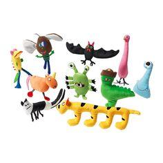 IKEA - SAGOSKATT, Pluchen speelgoed, , Alle speelgoedbeesten zijn goed in knuffelen, troosten, en luisteren, en zijn gek op spelen en stout zijn. Bovendien zijn ze betrouwbaar en getest op veiligheid.