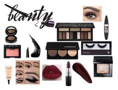 """""""After Dark Makeup Look"""" by cutiealee ❤ liked on Polyvore featuring beauty, BBrowBar, Kat Von D, Smashbox, Bobbi Brown Cosmetics, Surratt, MAC Cosmetics, NYX, NARS Cosmetics and Maybelline"""