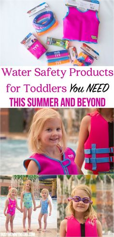 Water Safety Products for Toddlers You NEED This Summer AD | Great product recommendations to help you keep your toddler safe in the water!