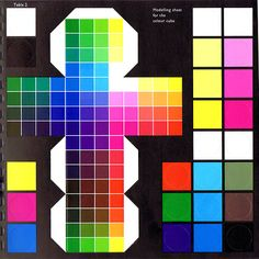 Alfred Hickethier - A simplified version of the Color Cube . Does not show the inner colors.