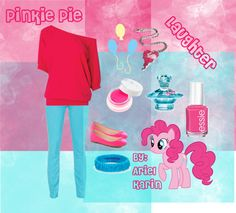 """Pinkie Pie - Elements of Harmony: Laughter"" by ariel-karin on Polyvore"