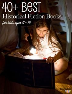 Historical fiction books that kids love & will teach them history!