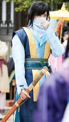 Park Hyungsik as Sam Maek Jong|Ji Dwi in Hwarang
