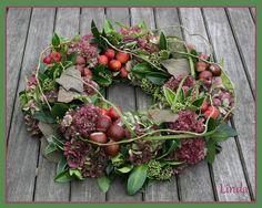 Bekijk de foto van miet met als titel herfst krans maken en andere inspirerende plaatjes op Welke.nl.