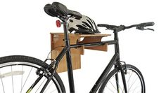 The COR Bamboo Bike Rack Folds-Away when you are done. Check the video out. On sale now! #bike