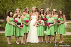 flowers for a green and pink wedding - Google Search