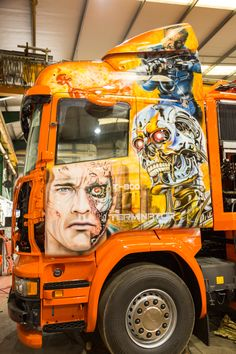 Customised Trucks, Highway To Hell, Show Trucks, Aquarium, Motorcycle, Vehicles, Artwork, Style, Cars And Trucks