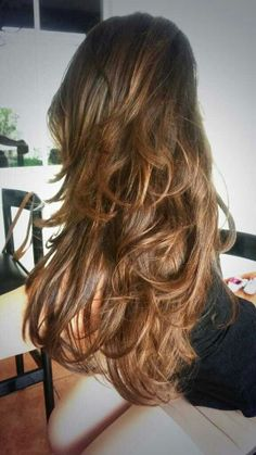 My natural ombre hair.