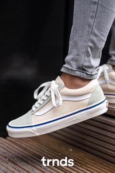 Shop Anaheim Factory Old Skool 36 DX Shoes today at Vans. The official Vans online store. Sneakers Fashion, Shoes Sneakers, Vans Online, Grey Vans, Hype Shoes, Vans Old Skool, Fashion Games, Drill, Nike Air Max