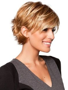 38 Hairstyles for Thin Hair to Add Volume and Texture ... Tagli CortiLunghi  ... 9e91a6ca2790