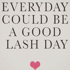 Eyelash extensions at the salon, NovaLash or nothing!