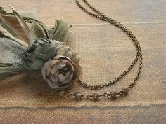 Hey, I found this really awesome Etsy listing at https://www.etsy.com/listing/90110446/petite-bouquet-necklace-ash-rose-hand