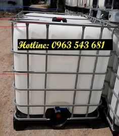 Nhựa Bảo Sơn: Bồn nhựa vuông khung thép, tank nhựa ibc khung thé... Lunch Box