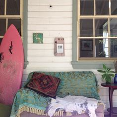 The perfect place to relax after a morning surf #livethesearch
