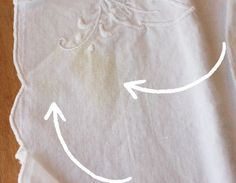 How To Restore Stained & Yellowed Vintage Linens