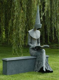 lucifelle:  Philip Jackson. 1944. Winner of National Peace Sculpture Competition, Manchester City Council, 1987. Elected Fellow Royal Society of British Sculptors.  A must for the garden of the mansion you have your Eyes Wide Shut Illuminati parties/orgies in.