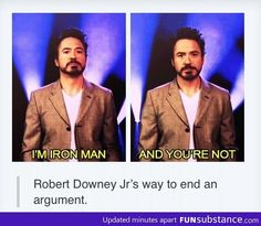 Best way to end an argument