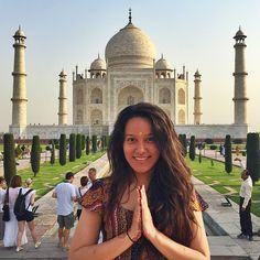 Check out this GoAbroad Interview with Jacquelin Clemente who participated in International Volunteer HQ [IVHQ] - Volunteer in Childcare Work in India program. Delhi India, India Travel, Photo Poses, Taj Mahal, Most Beautiful, Interview, Goa India, Picture Poses