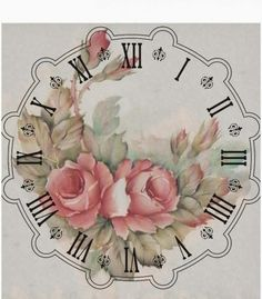 Not sure if I like it ad a clock....but like the flowers