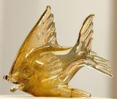 Murano Glass Fish Paperweight